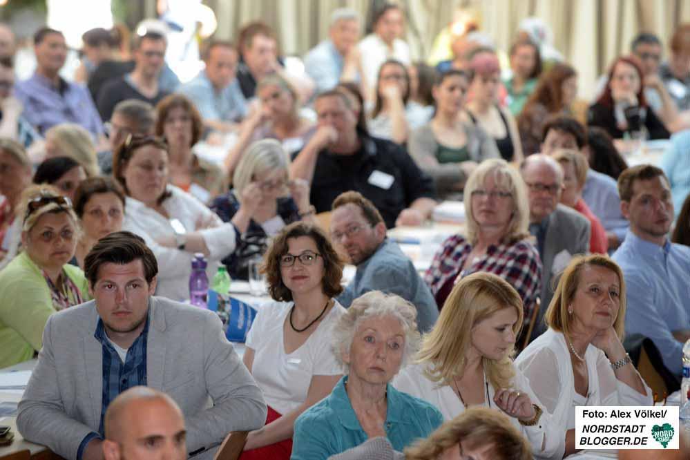 250 TeilnehmerInnen - 100 mehr als beim letzten Mal - nahmen am 4. Flüchtlingsforum teil.