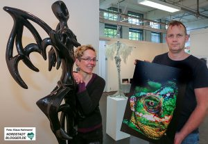 Ausstellung Freie Körper, Rybasch-Tarry und Hendrik Müller in der Galerie Fischer im Depot