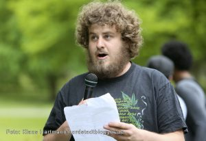 Global Marihuana March 2016. Gustav Berger, Grüne Jugend