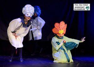Das Theaterstück haben die Teilnehmerinnen komplett selbst entwickelt und auf die Bühne gebracht.