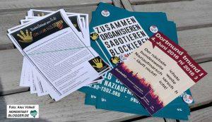 Verschiedene Bündnisse wollen gegen den Naziaufmarsch auf die Straße gehen.