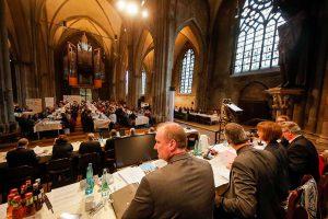 Die Synode der evangelischen Kirche tagte in der Reinoldikirche. Fotos: Stephan Schuetze/VKK