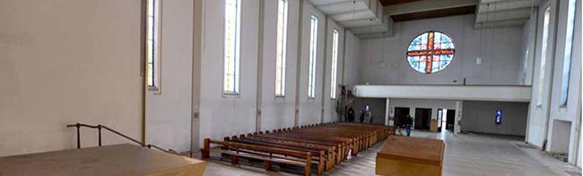 Neues Kapitel in der unendlichen Geschichte von St. Albertus Magnus: Statt Abriss für Kita nun ein Hotel in der Kirche