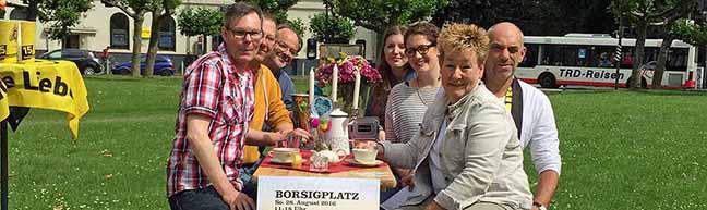 1. Still-Leben auf dem Borsigplatz lädt am 28. August zum gemütlichen Treffen aller Borsianer in der Nordstadt ein