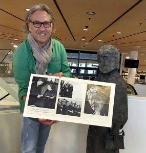 Jens André Pfeiffer, Leiter der Handschriftenabteilung der Stadt- und Landesbibliothek. Foto: Pfeiffer