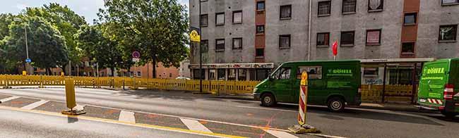 Bombensondierung: Ab Montag erneute Sperrung an der Brackeler Straße zwischen Im Spähenfelde und Borsigplatz