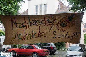 Das diesjährige Nachbarschaftsfest in der Feldherrnstraße