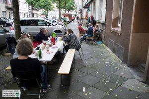 Das diesjährige Nachbarschaftsfest in der Feldherrnstraße, Dortmund.