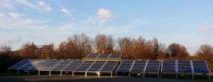 Ein Solarkraftwerk von AfricaGreenTec. Foto: Unternehmen