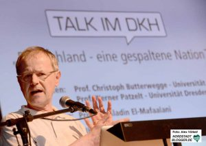 """Talk im DKH"" mit Prof. Christoph Butterwegge."
