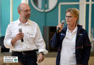 Peter Wawrik und Martina Köhler-Kranich vom Malteser Hilfsdienst stellten die Pläne vor.