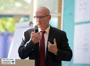 Jörg Süshardt, Leiter des Sozialamtes, stellte die Pläne vor.