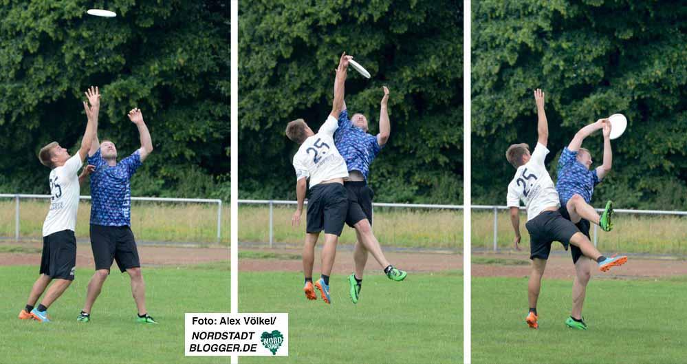 Ultimate Frisbee-Turnier von Torpedo Phoenix Dortmund _Collage 02 - NSB