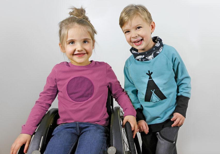 Sabine Gröne hat ein Fashionlabel für Kinder mit und ohne Behinderung gestartet.