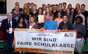 Die ausgezeichnete Klasse 9F der Euregio-Gesamtschule in Rheine.