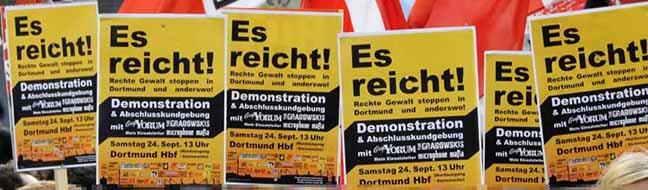 Zivilgesellschaft will Freitag ein Zeichen gegen Nazigewalt setzen – Neonazis marschieren durch Unterdorstfeld