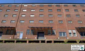 Im Magazingebäude will die Stadt den GründungsCampus etablieren. Foto: Völkel