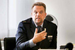 Thomas Fürst, Leiter der auch für Dorstfeld zuständigen Polizeiinspektion 2.