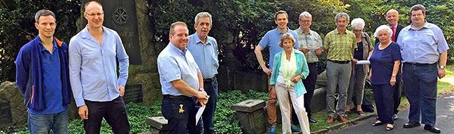 Unterstützer gesucht: Ein neuer Förderverein bittet um Spenden für Restaurierungen auf dem Nordfriedhof
