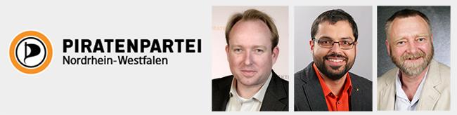 VierDortmunder Piraten auf der Liste für die Landtagswahl: Sie wollen mit viel Zuversicht zurück in die Erfolgsspur