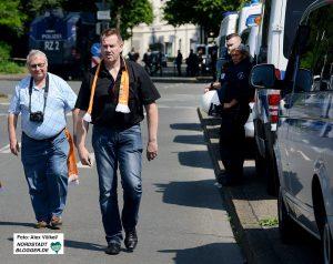 Die Arbeit der Polizei bleibt dem ehemaligen Polizisten eine Herzenangelegenheit. Foto: Alex Völkel