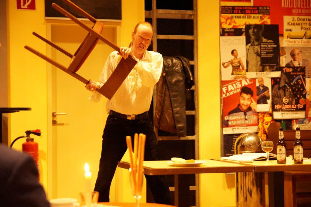 Francois Villon: Ein zerissener Charakter. Foto: Leonie Krzistetzko