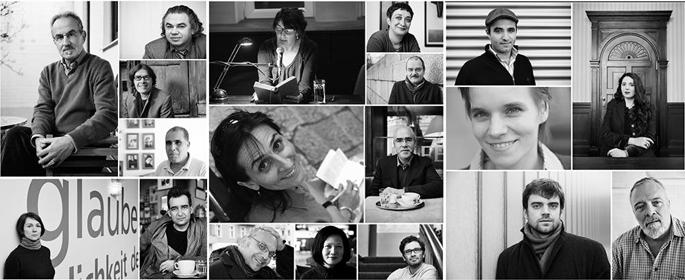 Vom 9. bis 11. November kommen 15 mit dem Adelbert von Chamisso-Preis ausgezeichnete AutorInnen nach Dortmund. Fotos: Veranstalter