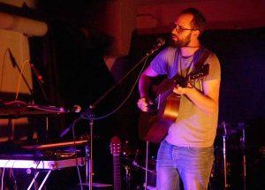Singer-Songwriter Domingo war Support-Act von Jann Tholen.