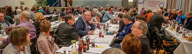 Tagung der Synode des Evangelischen Kirchenkreises Dortmund: Mehr Kirchensteuern – weniger Mitglieder