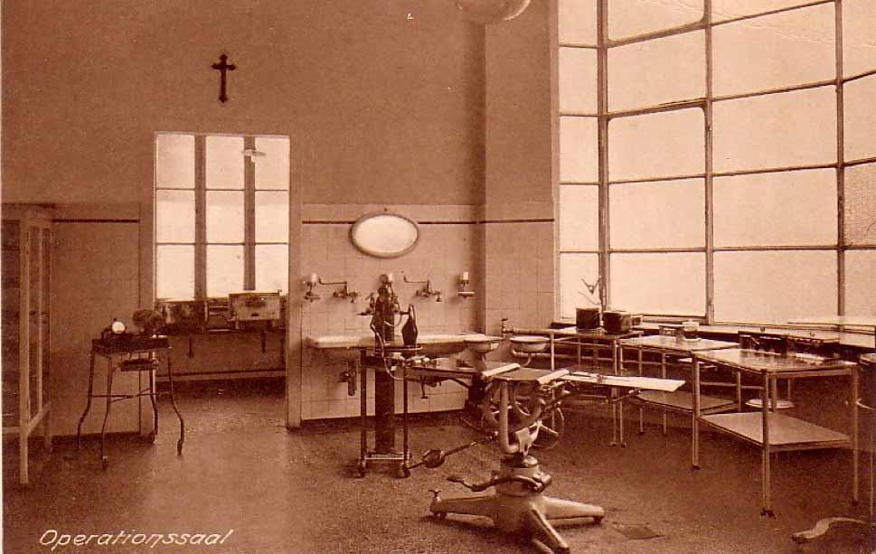 So sahen Operationssäle in der Nordstadt zu Beginn des 20. Jahrhunderts aus.