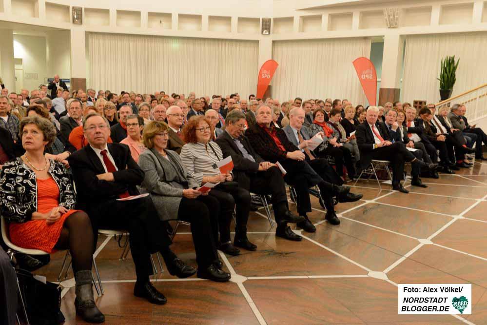 Zahlreiche (Ehren-) Gäste kamen zum 70. Geburtstag der SPD-Fraktion.