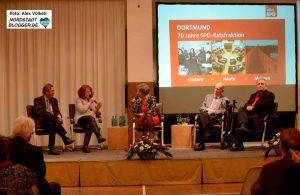 Führende SPD-Mitglieder früherer Jahre gaben Einblicke in die Arbeit.