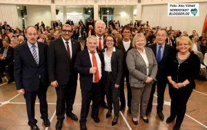 Die SPD feierte sich und die Arbeit für die Stadt Dortmund.