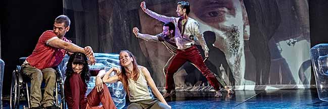 """""""UpDating You"""": Inklusives TanzTheater in Zeiten der Digitalisierung ist am Donnerstag zu Gast im Depot"""