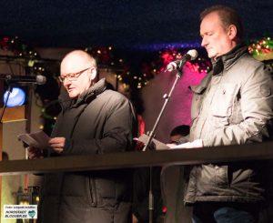 Propst Andreas Coersmeier sprach gemeinsam mit Pfarrer Michael Stache das Schlussgebet auf der Gedenkveranstaltung.