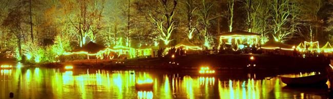 FOTOSTRECKE Weihnachtsmarkt im Fredenbaum: Ein mittelalterliches Märchen aus Licht, Feuer und Fantasie