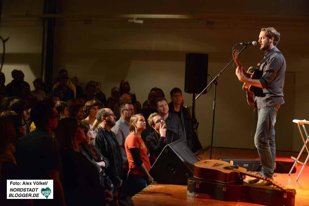 Gisbert zu Knyphausen wünschte sich für das Solo-Konzert eine intime Stimmung.