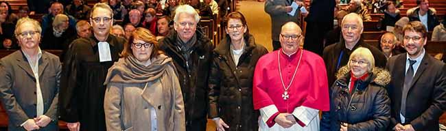 Neujahrsempfang im Zeichen der Ökumene:Reinoldustag der evangelischen und katholischen Kirche in Dortmund