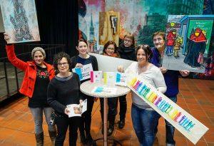 """KünstlerInnen und Organisatorinnen freuen sich auf die """"Offenen Ateliers 2017"""""""