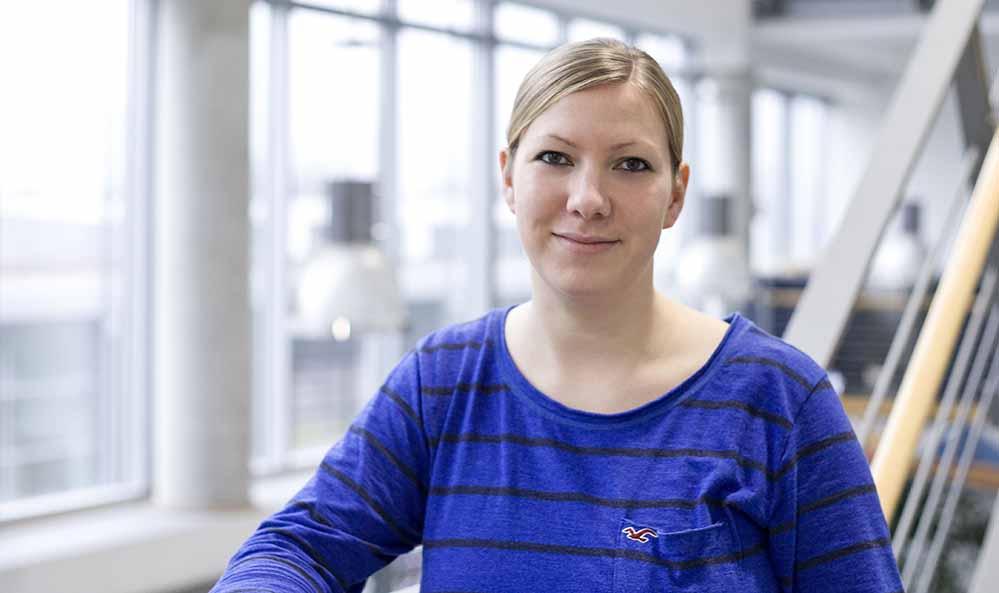 Julia Klein vom TalentKolleg Ruhr der Fachhochscule Dortmund.