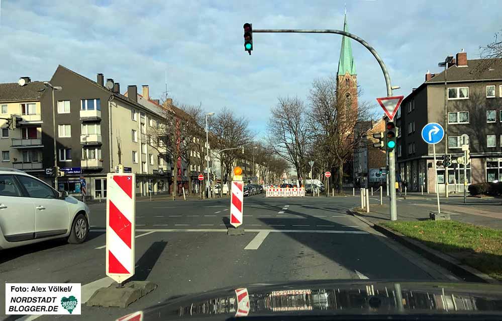 Im Bereich der Schützenstraße wird es noch länger zu Verkehrsbehinderungen kommen.
