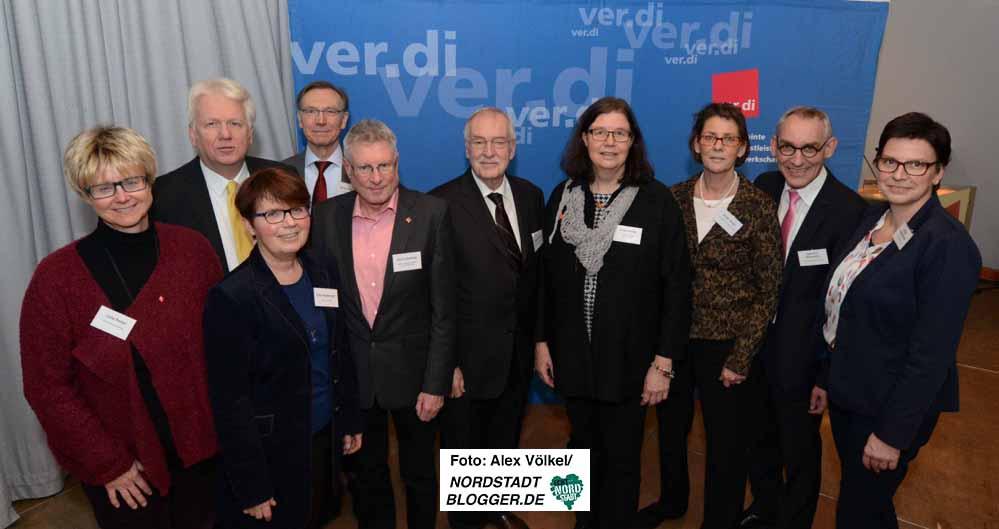 Die Dienstleistungsgewerkschaft ver.di hatte zahlreiche Multiplikatoren zum Jahreseinstieg eingeladen. Foto: Alex Völkel