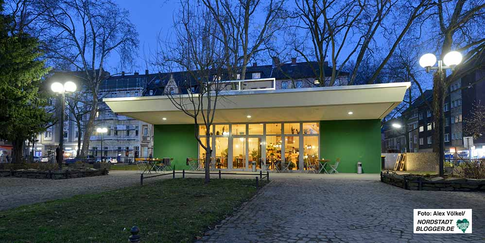 Aus dem (rot gestalteten) Salon Fink ist der Grüne Salon geworden. Foto: Alex Völkel
