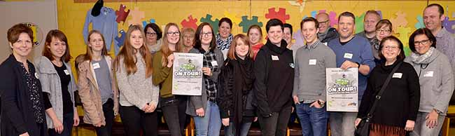 """Die katholische Jugendarbeit geht """"on tour"""": Austauschtreffen mit Aktiven im Pastoralverbund Dortmund-Nordost"""