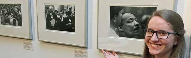 Eindrucksvolle Fotografien von Benedict J. Fernandez erinnern im MKK Dortmund an Bürgerrechtler Martin Luther King