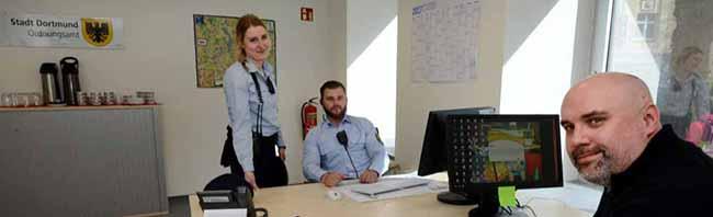 Verstärkte Präsenz in der Nordstadt: OB Ullrich Sierau eröffnet das Nordmarkt-Büro des Ordnungsamtes