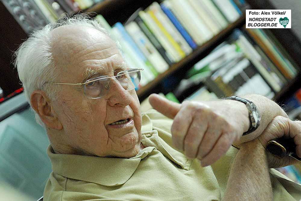 Dr. Abraham Bar Menachem ist im Alter von 104 Jahren gestorben. Fotos: Alex Völkel