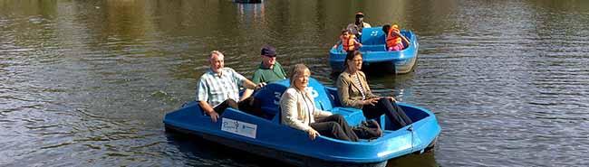 Frühlingsstart im Fredenbaumpark: Verleih für Ruder- und Tretboote in der Nordstadt hat wieder geöffnet