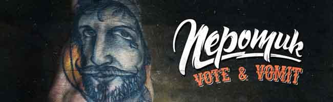 """Neues aus dem Proberaum: Nepomuk veröffentlichen mit """"Vote & Vomit"""" am 22. April ihr drittes Studioalbum"""