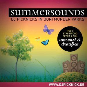 Acht Summersounds-DJ-Picknicks wird es in diesem Jahr in Dortmund geben.